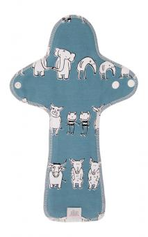 Ella's House Moon Pad MAXI, Nacht-Stoffbinde - Zoo Friends LIMITED EDITION